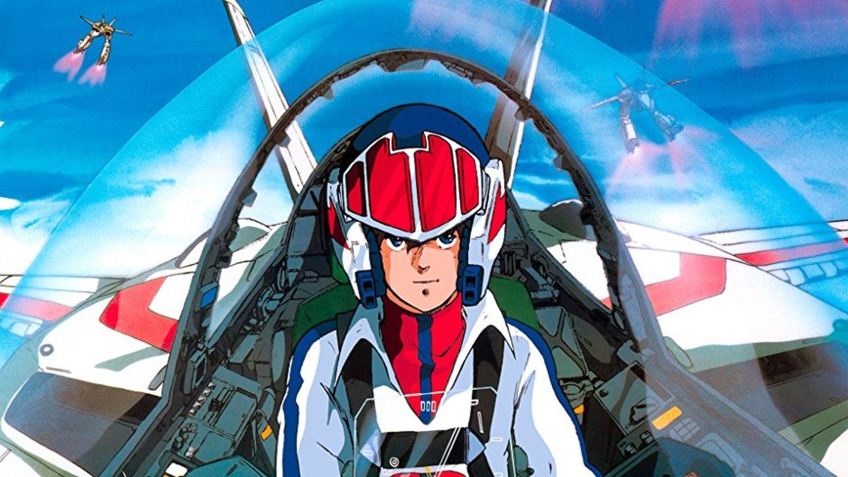 Super Dimension Fortress Macross, a Real Robot genre introduced in the 80's