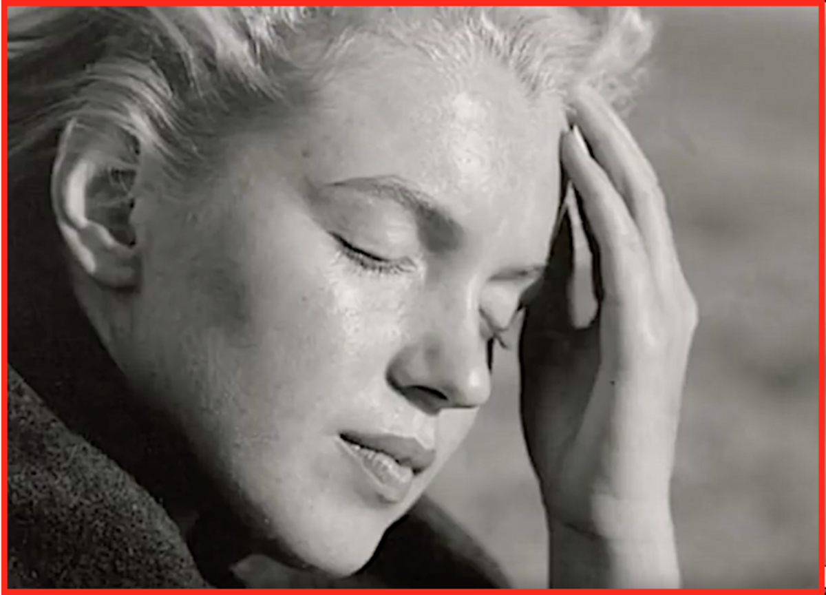 In public, sex goddess Marilyn Monroe seemed to be living a happy and vibrant life.  But in private, the actress was struggling with bipolar disorder.