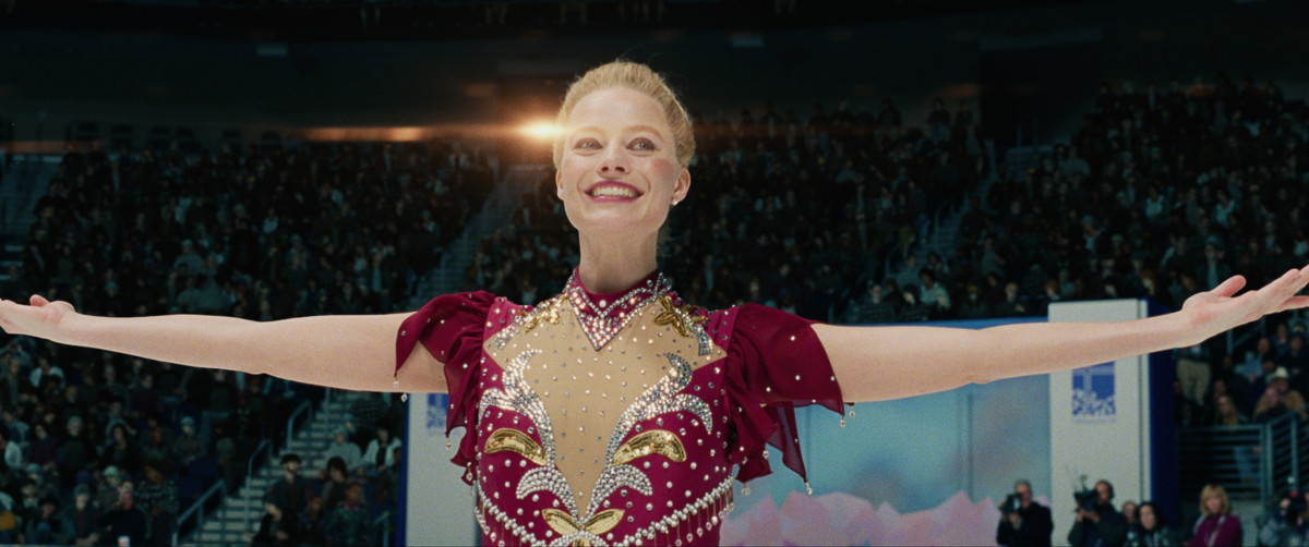 "Margot Robbie as Tonya Harding in, ""I, Tonya."""