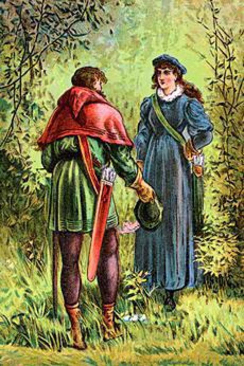 Robin Hood and Maid Marian (poster, ca. 1880),