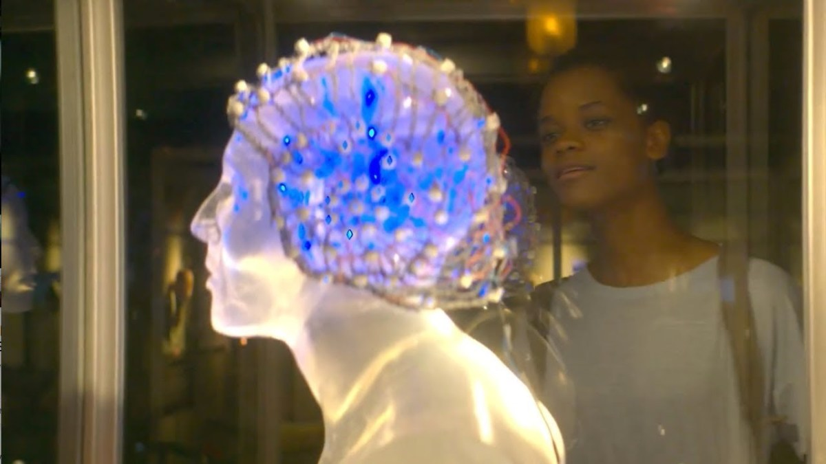Letitia Wright as Nish in 'Black Museum'