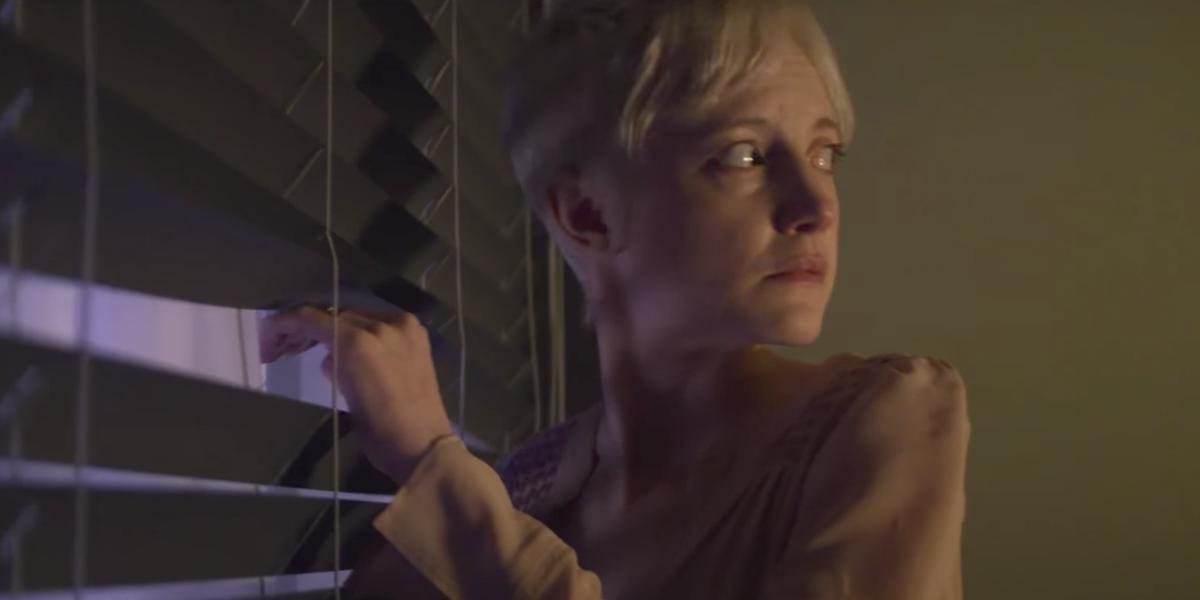 Andrea Riseborough in the episode 'Crocodile'