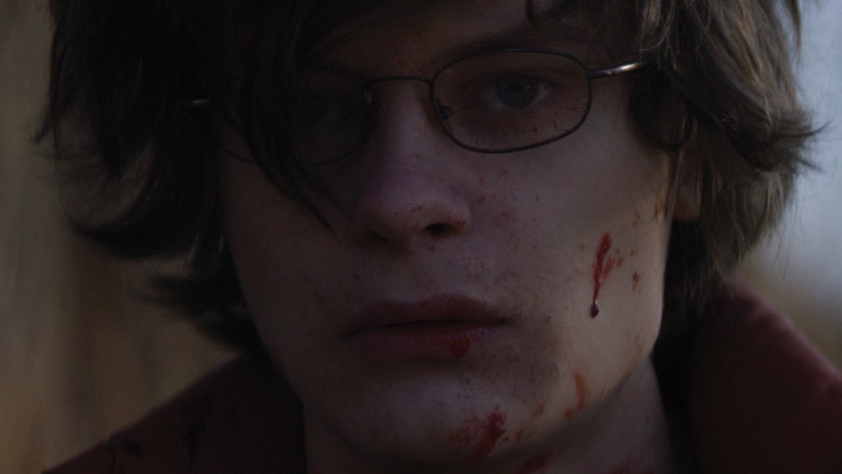 Charlie Tahan is amazing in this film. He couldn't be more perfect if he tried. #CharlieTahan. Super Dark Times review.