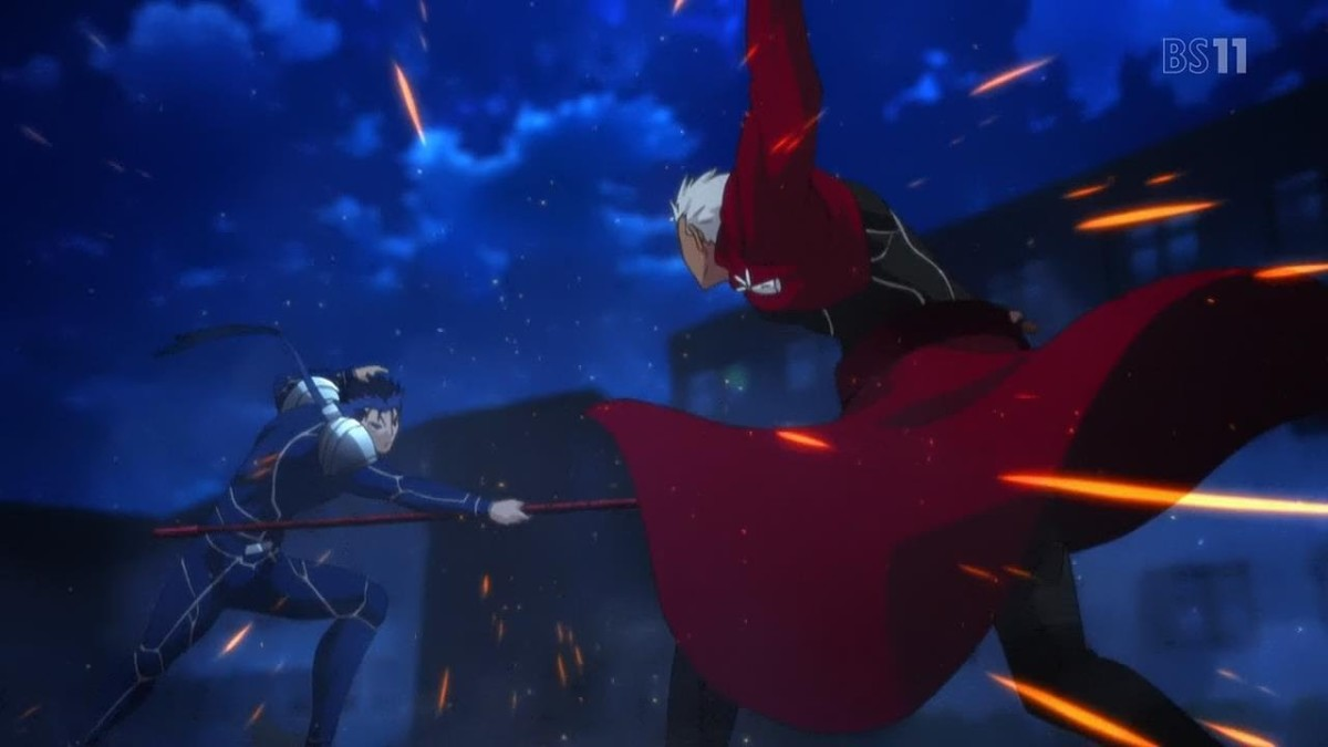 Lancer vs Archer