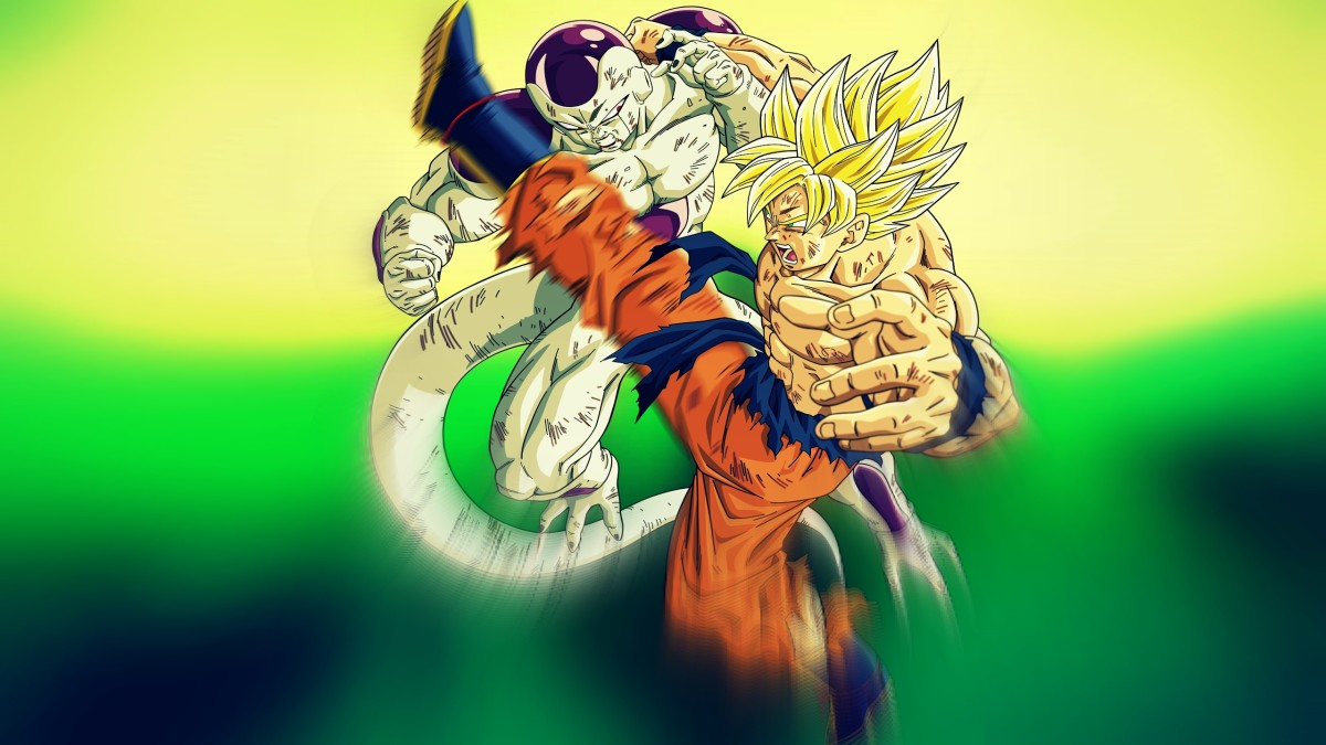 Goku vs Frieza