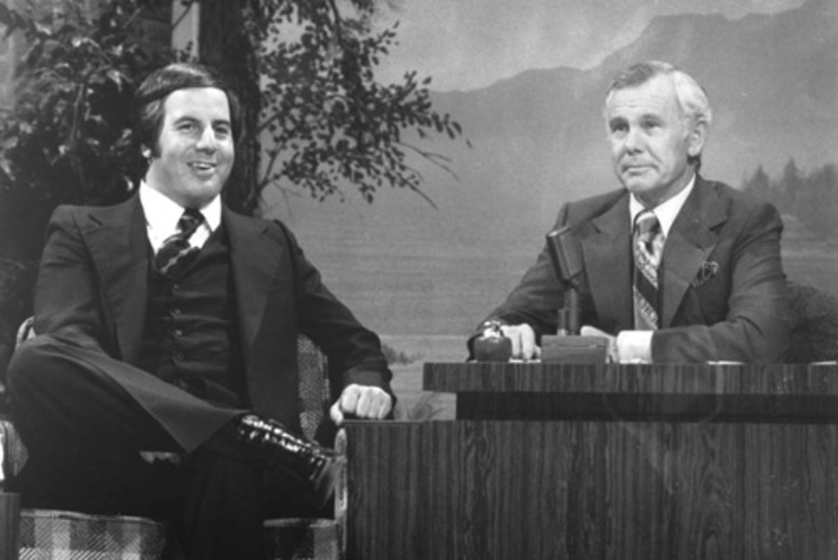 Frank Abagnale with Johnny Carson on the Tonight Show