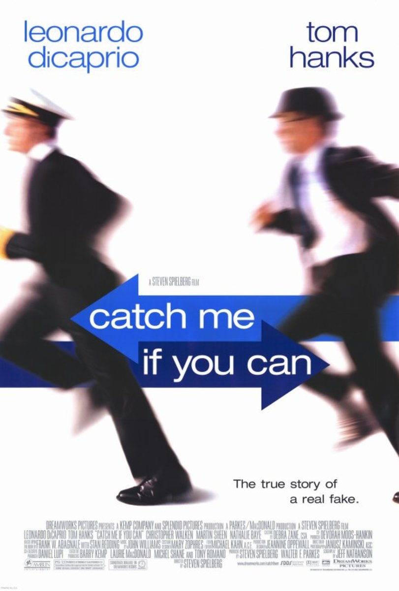 Movie poster for Catch Me If You Can