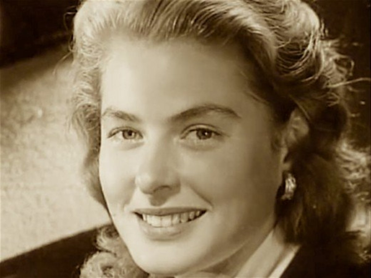 Ingrid Bergman - one of Sweden's most famous  orphans.
