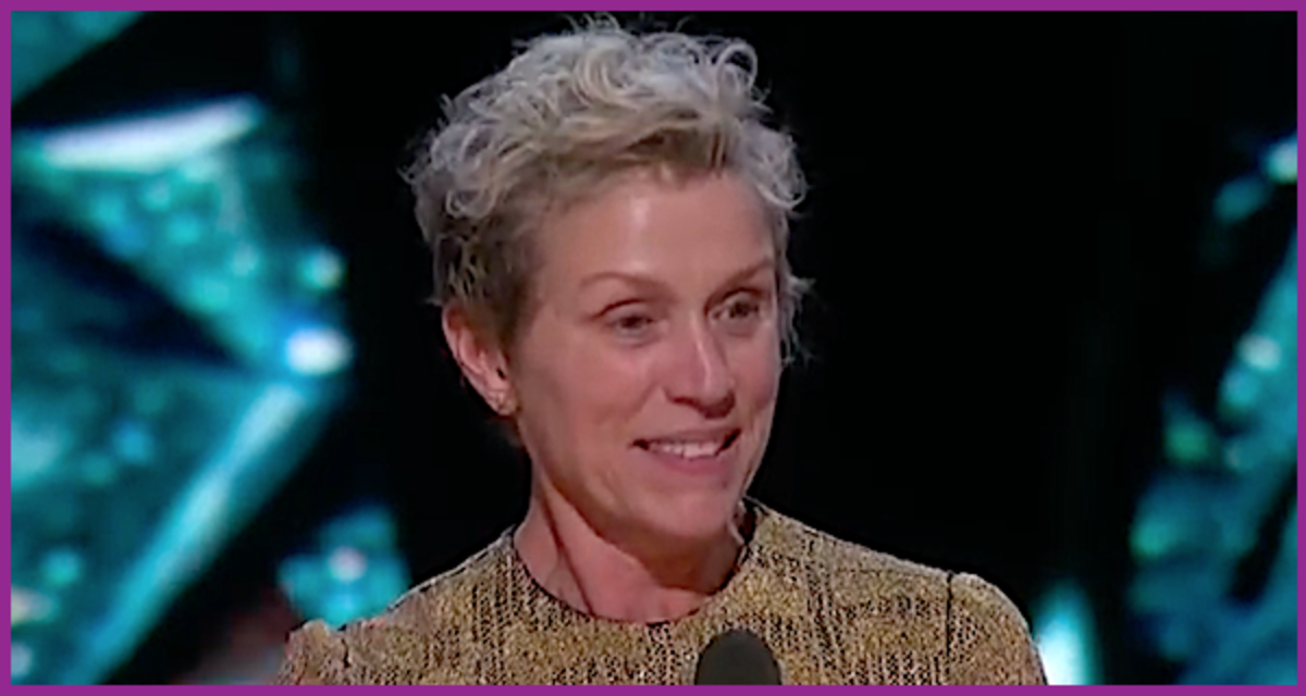 "Frances McDormand won her second Best Actress Oscar for 2017's ""Three Billboards Outside Ebbing, Missouri."""