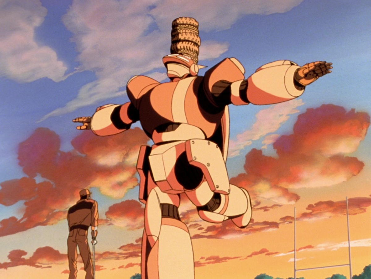 Noriko goes through the wringer trying to master piloting her mech.
