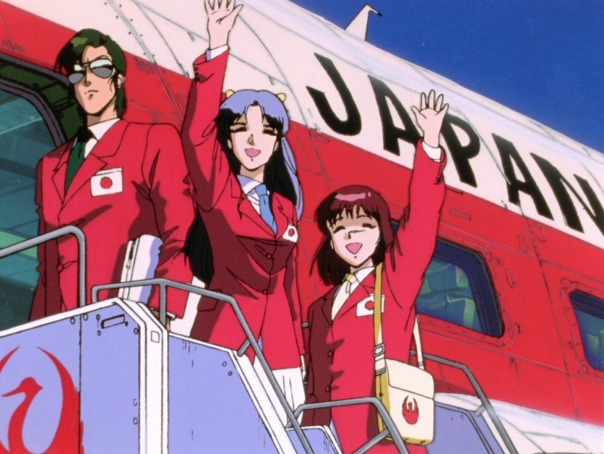 Noriko, Amano, and Ohta, taking the next step in humanity's collective future.