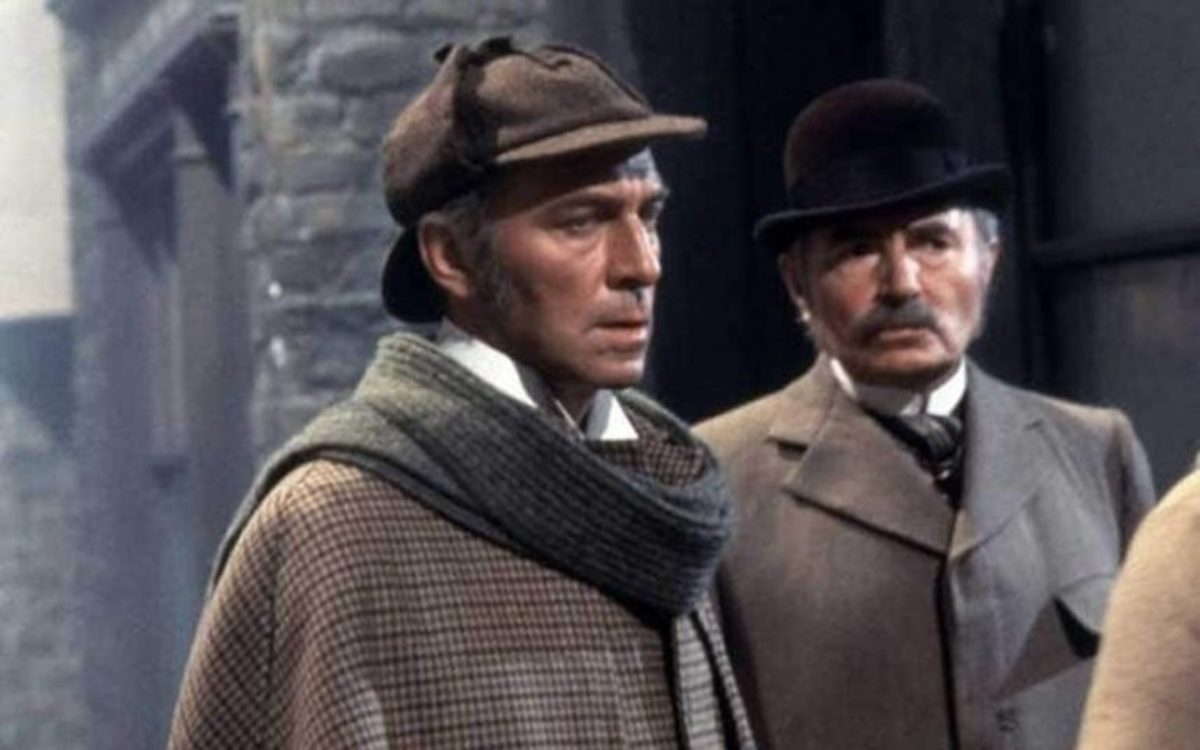 Christopher Plummer in Murder by Decree with James Mason as Watson