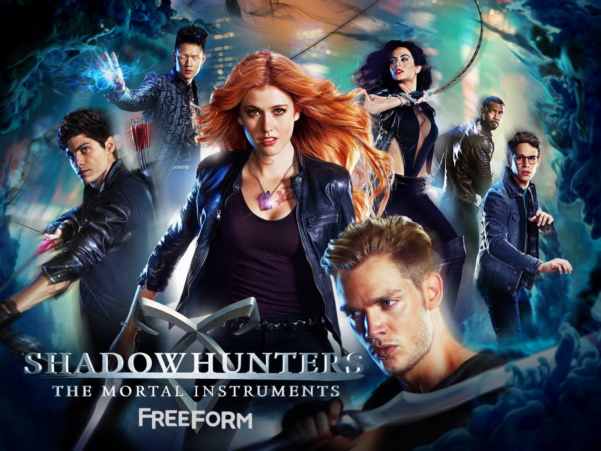 "Shadowhunters Tv Series is loosely based on a book series ""The Mortal Instruments"" written by Cassandra Clare 