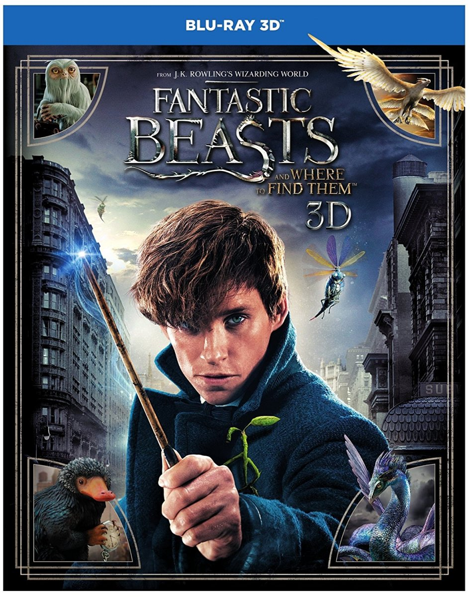 Fantastic Beasts and Where to Find Them produced and written by J. K. Rowling |            10 Magical Movies Like Harry Potter