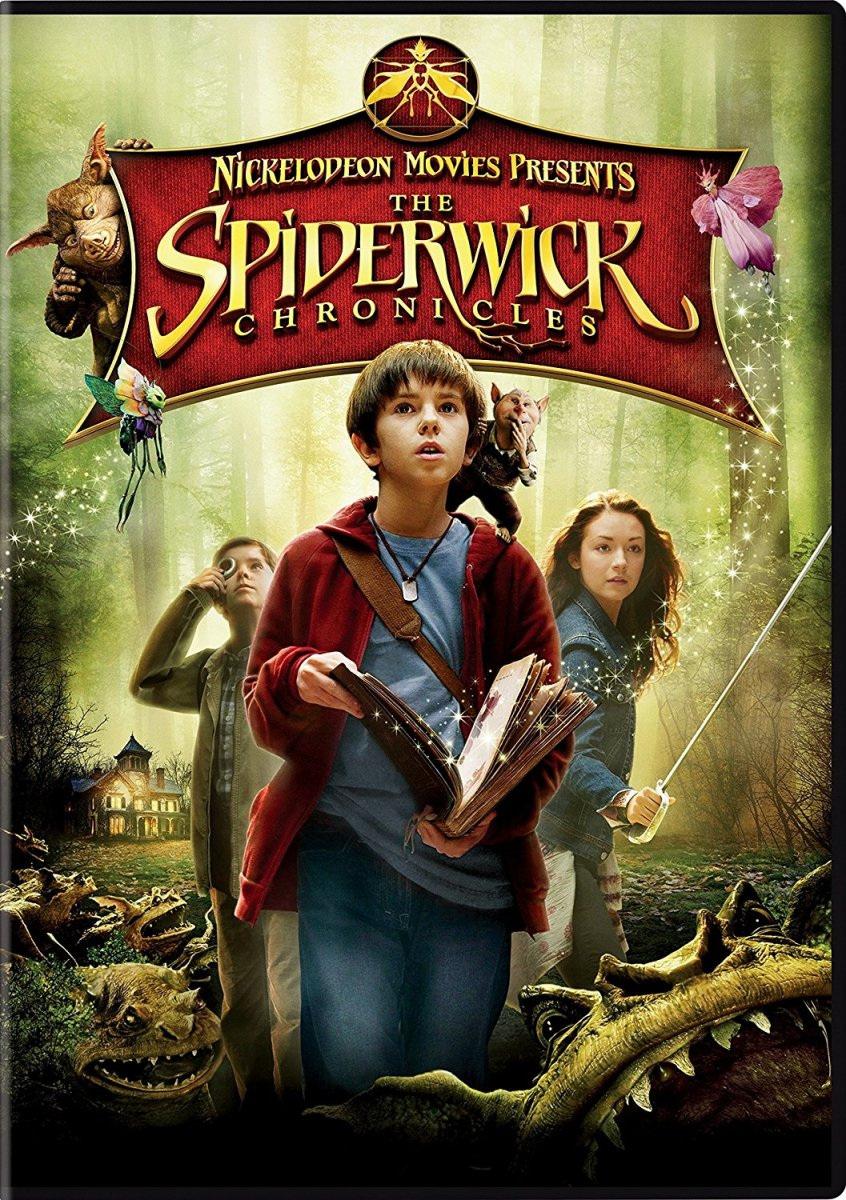 "The Spiderwick Chronicles is based on ""The Spiderwick Chronicles"" book series by Holly Black and Tony DiTerlizzi 