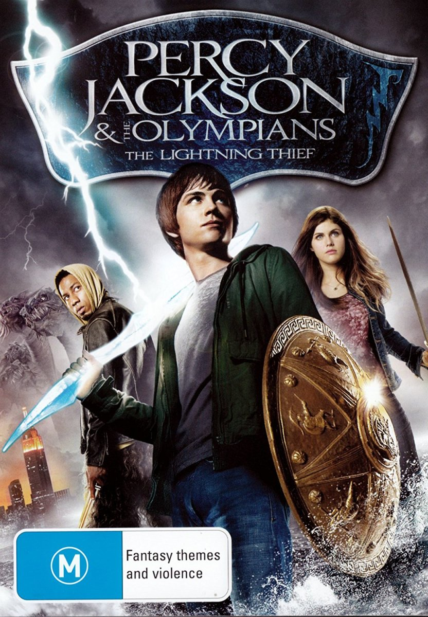 "Percy Jackson movie series based on ""Percy Jackson & the Olympians"" novel series by Rick Riordan 