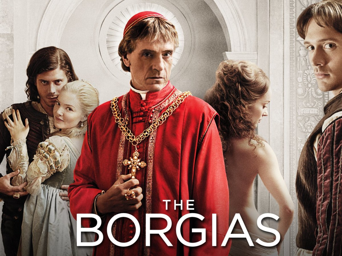 The Borgias | 20 TV Shows Like Game of Thrones You Should Watch