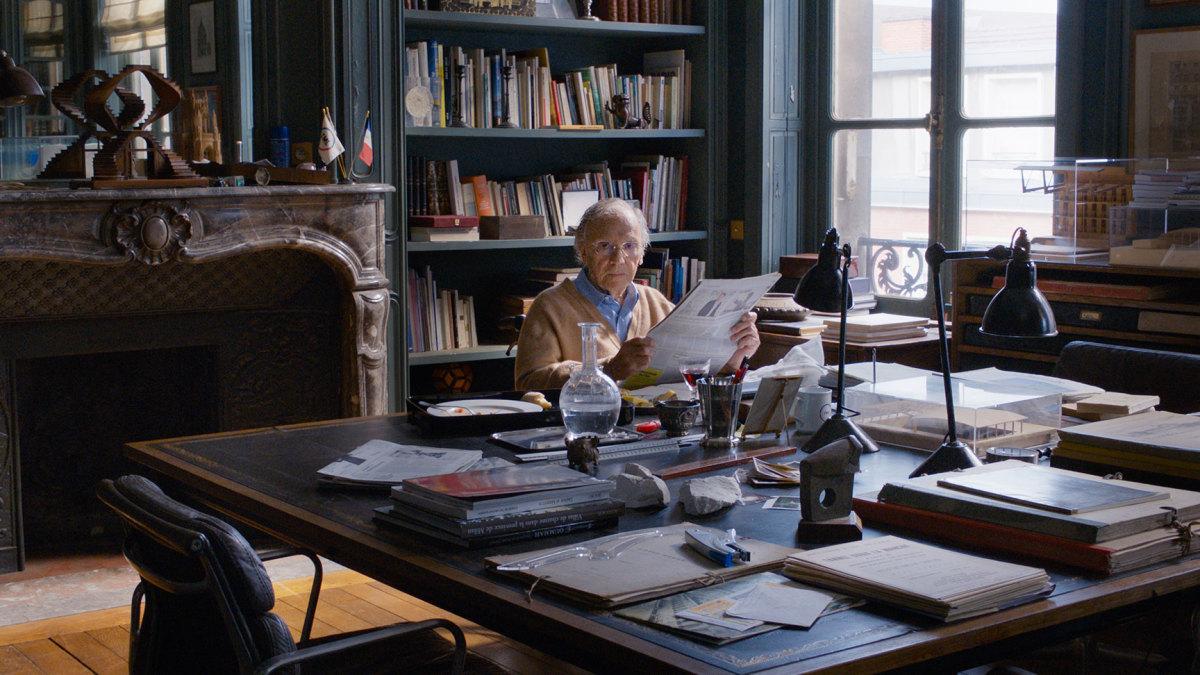 "Jean Louis-Trintignant as Georges Laurent in, ""Happy End."""
