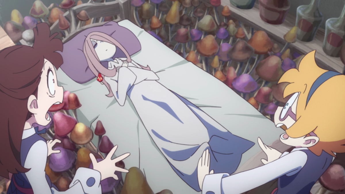 Sucy tends to get a little carried away with her mushroom experiments...