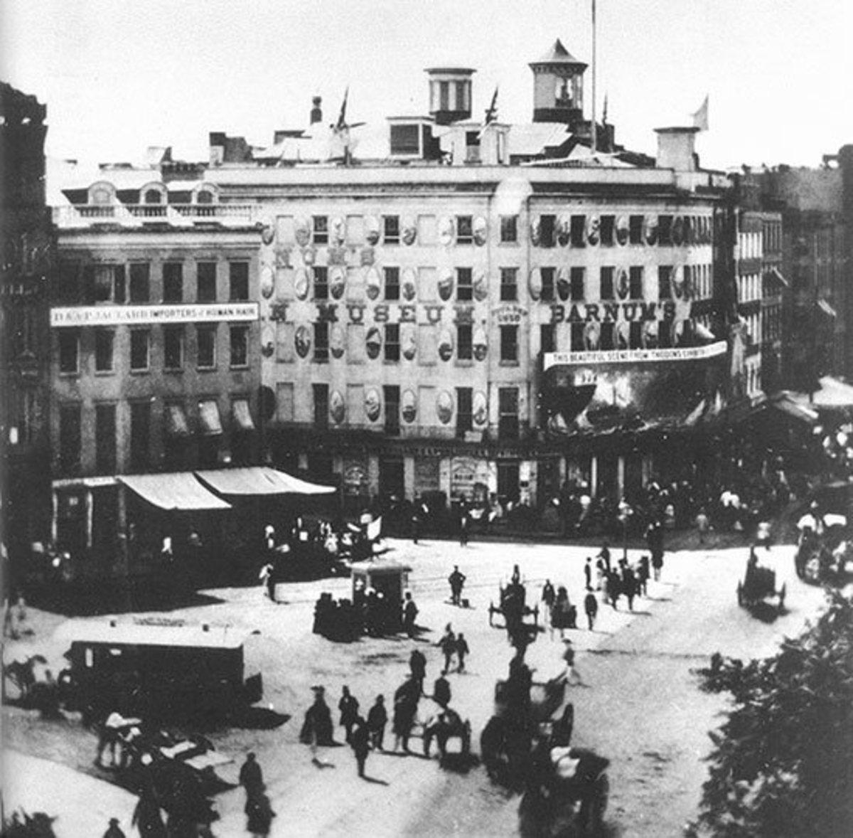 Barnum's American Museum In 1858