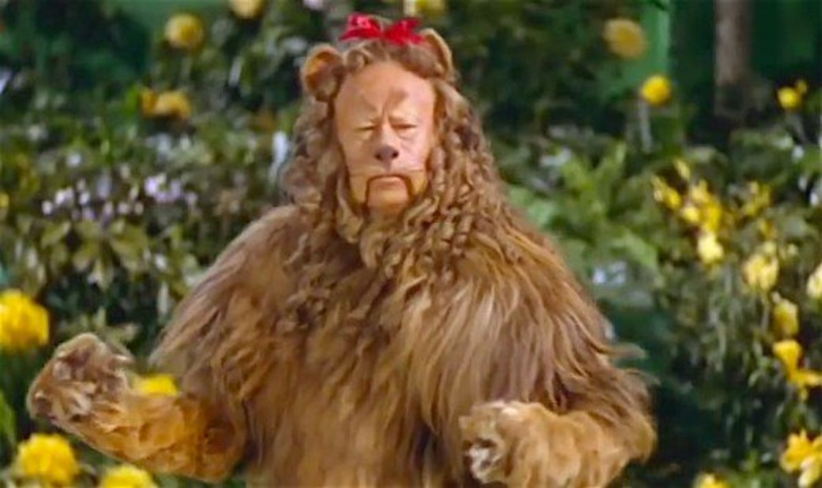 Bert Lahr -- in 2014 Lahr's Coward Lion costume sold at auction for $3 million.  That's more than the entire production cost of the 1939 movie.