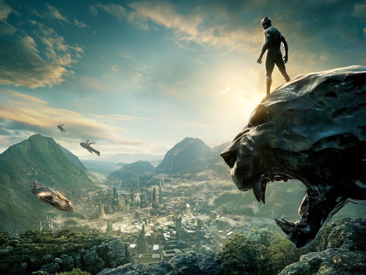 The city/nation of Wakanda