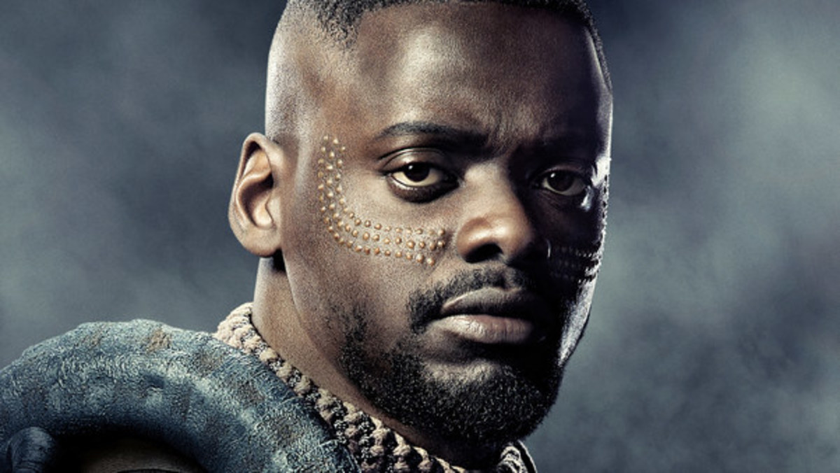 W'Kabi portrayed by Daniel Kaluuya (as seen in Get Out and Black Mirror)