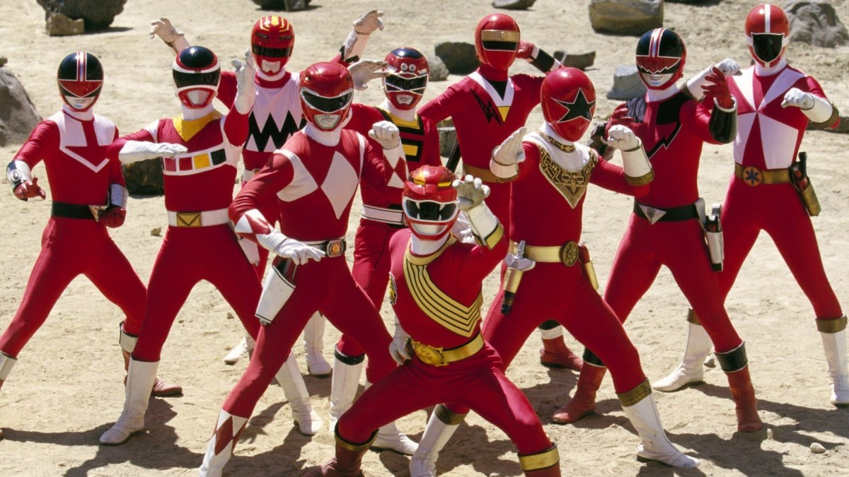 Rangers from Forever Red