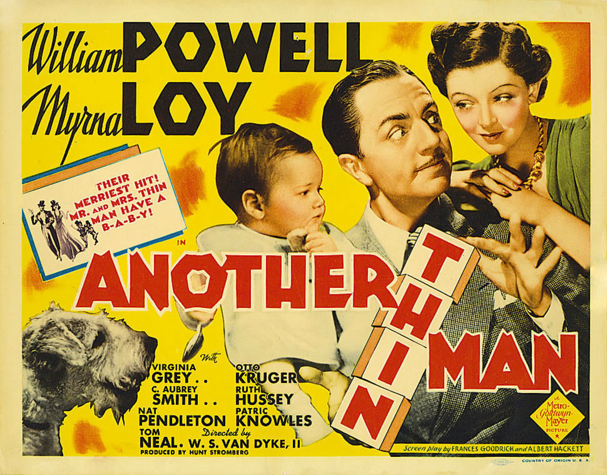 "Lobby title card for ""Another Thin Man"" (1939)"