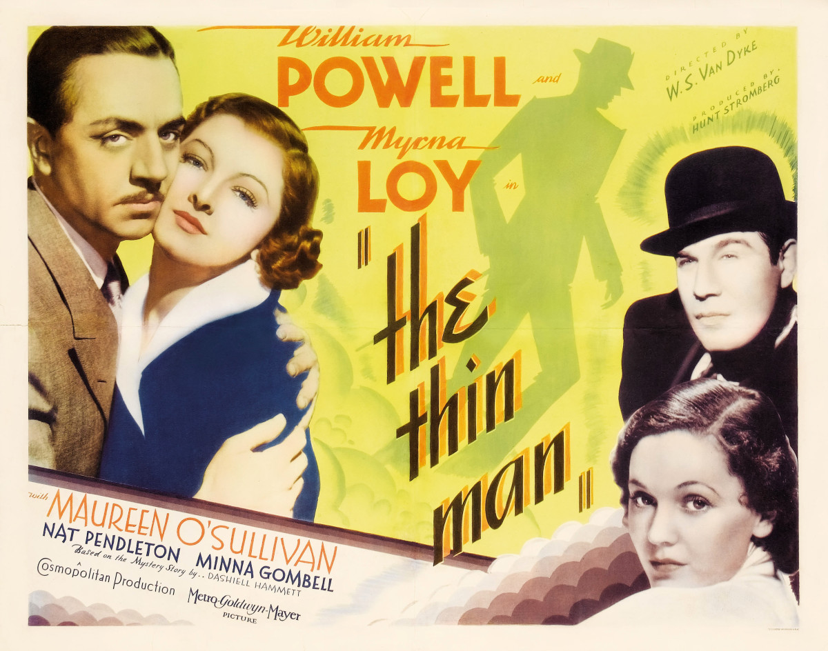"Movie poster for ""The Thin Man"" (1934)"