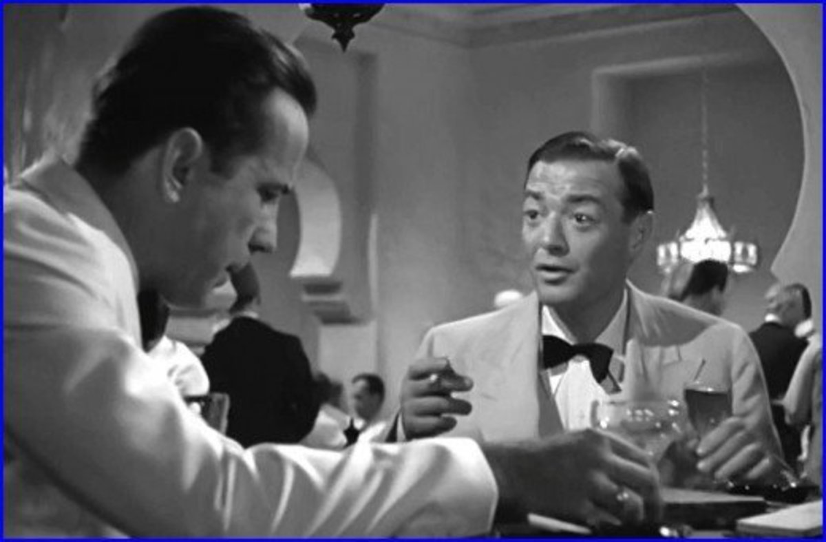 Peter Lorre played Ugarte in Casablanca. He would enjoy a long and storied Hollywood career.