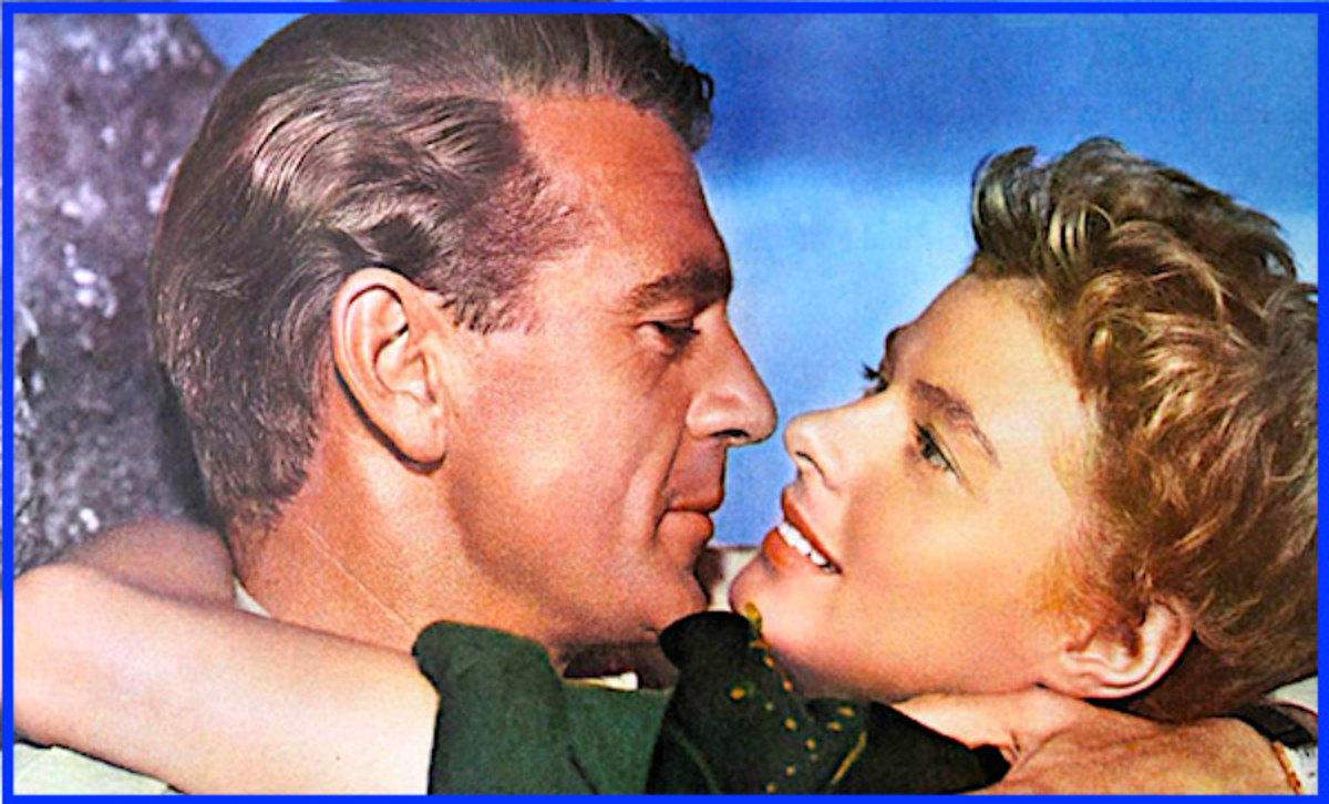 "Ingrid Bergman had a torrid love affair with actor Gary Cooper after they appeared together in 1942's ""For Whom the Bells Toll,"" which she filmed right after ""Casablanca."""