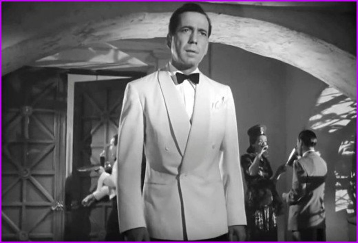 Even when he played the jilted Rick in Casablanca, Humphrey Bogart still knew how to be cool.