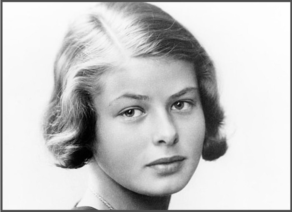 Ingrid Bergman was just 14 when this photo was taken, and the Swedish teen will one day become one of the stars of Hollywood's most treasured romantic movie: Casablanca.