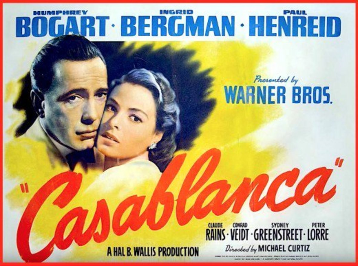 Casablanca is considered one of Hollywood's greatest movies ever.  Film critics around the world typically have it rated in the Top 10 movies of all time.