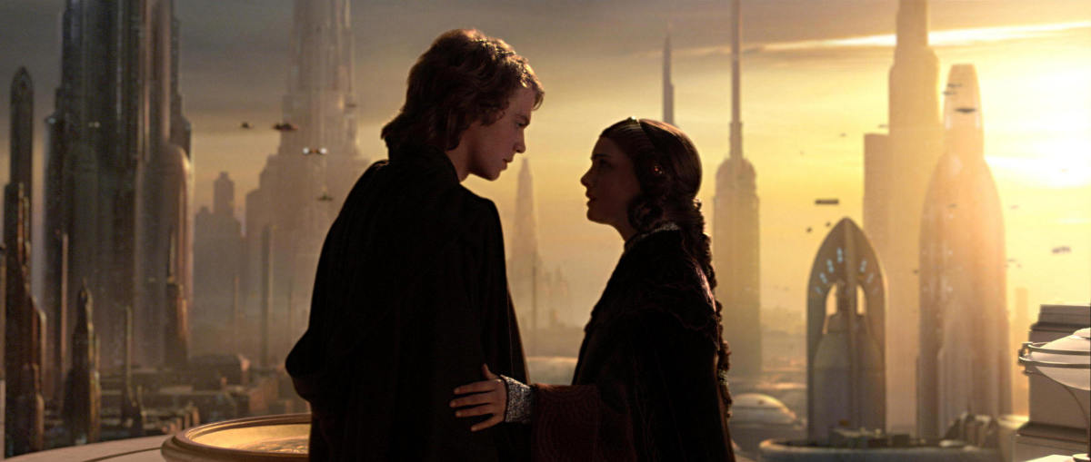 From Lucasfilm.  Regardless of whether or not the marriage was toxic, both Anakin and Padme were strong-willed and passionate in their own convictions.  Leia very much represents both of those convictions: to family and the larger cause.