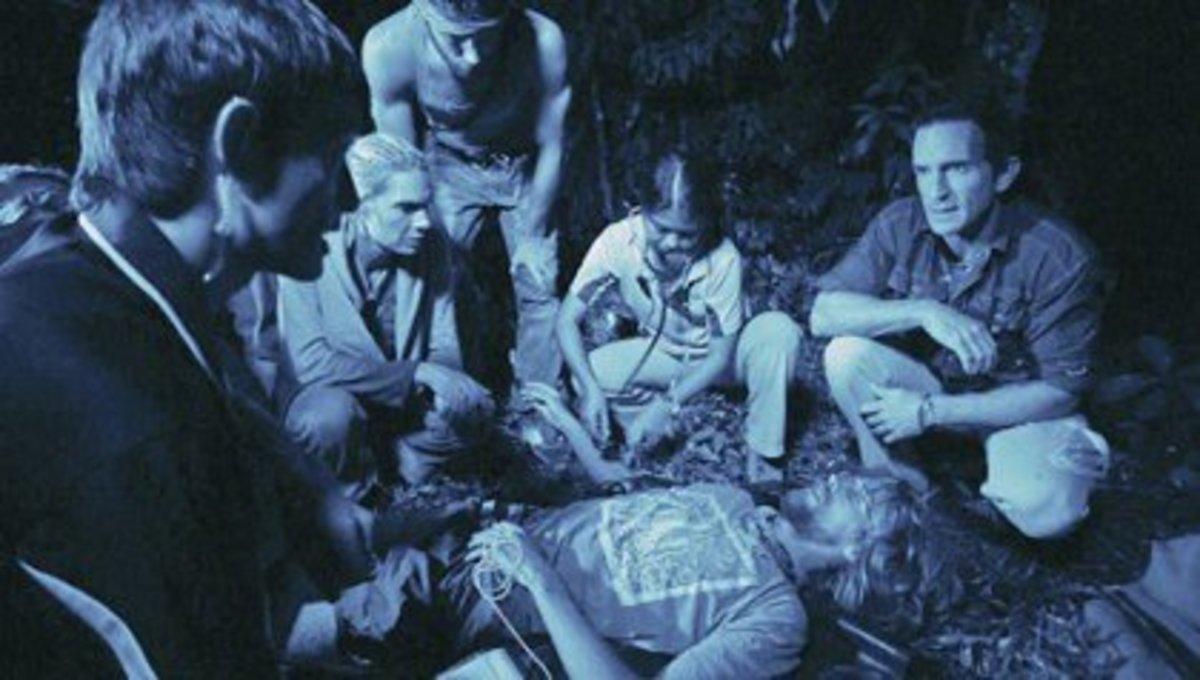 Erich Reichenbach evacuated in Survivor: Caramoan