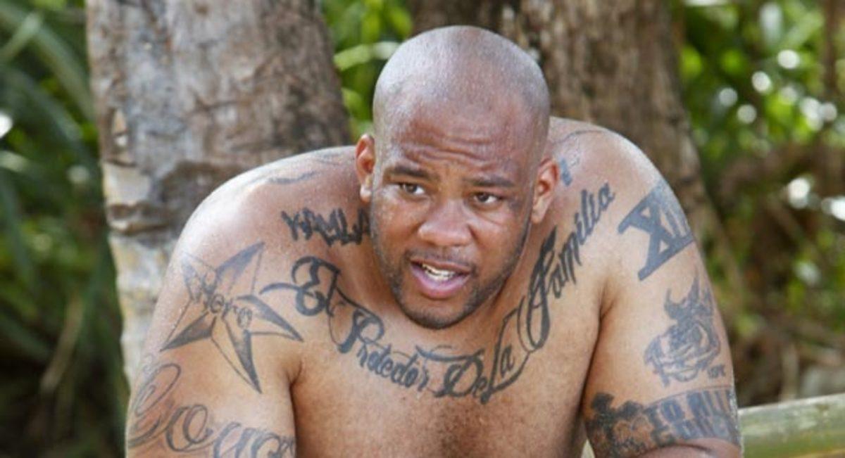 Shamar Thomas of Survivor: Caramoan suffers from his eye injury.