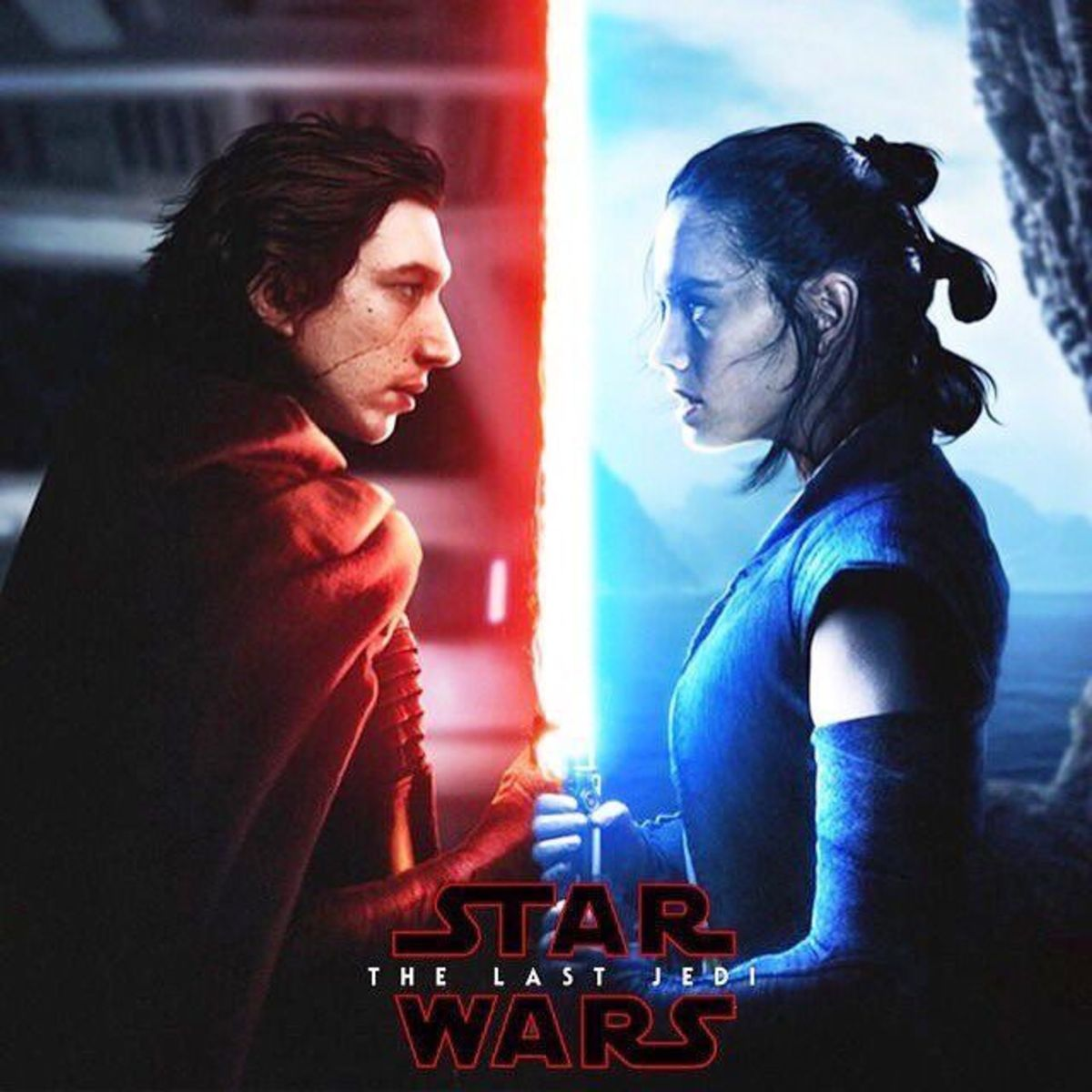 Reylo in Star Wars: The Last Jedi
