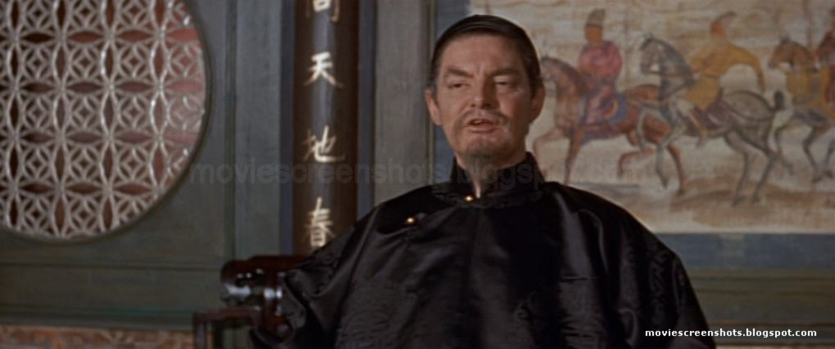 Robert Donat as The Mandarin