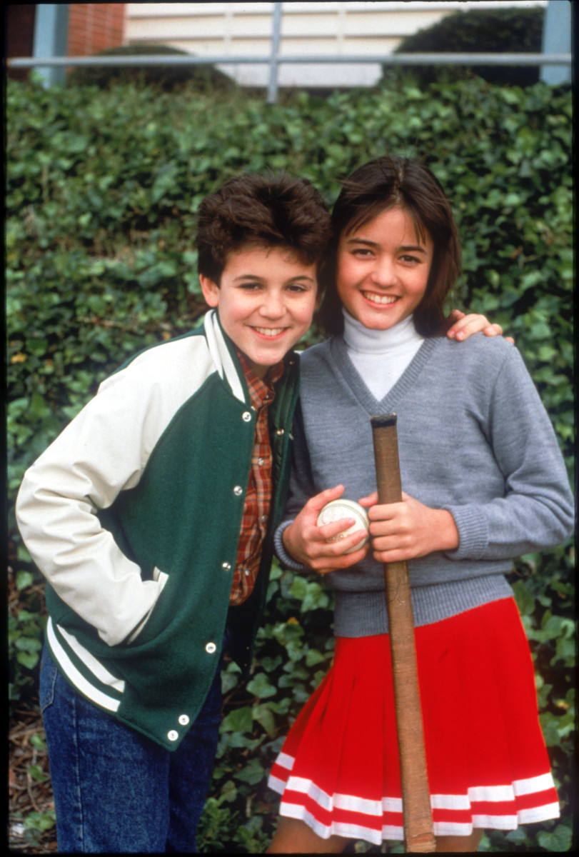 Kevin Arnold  and Winnie Cooper (Fred Savage and Danica McKellar)