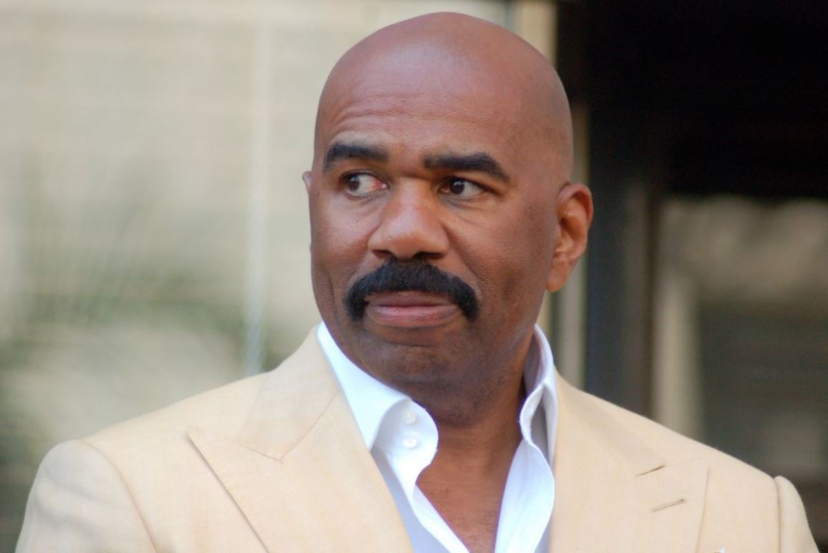 Steve Harvey lived out of his car for three years.