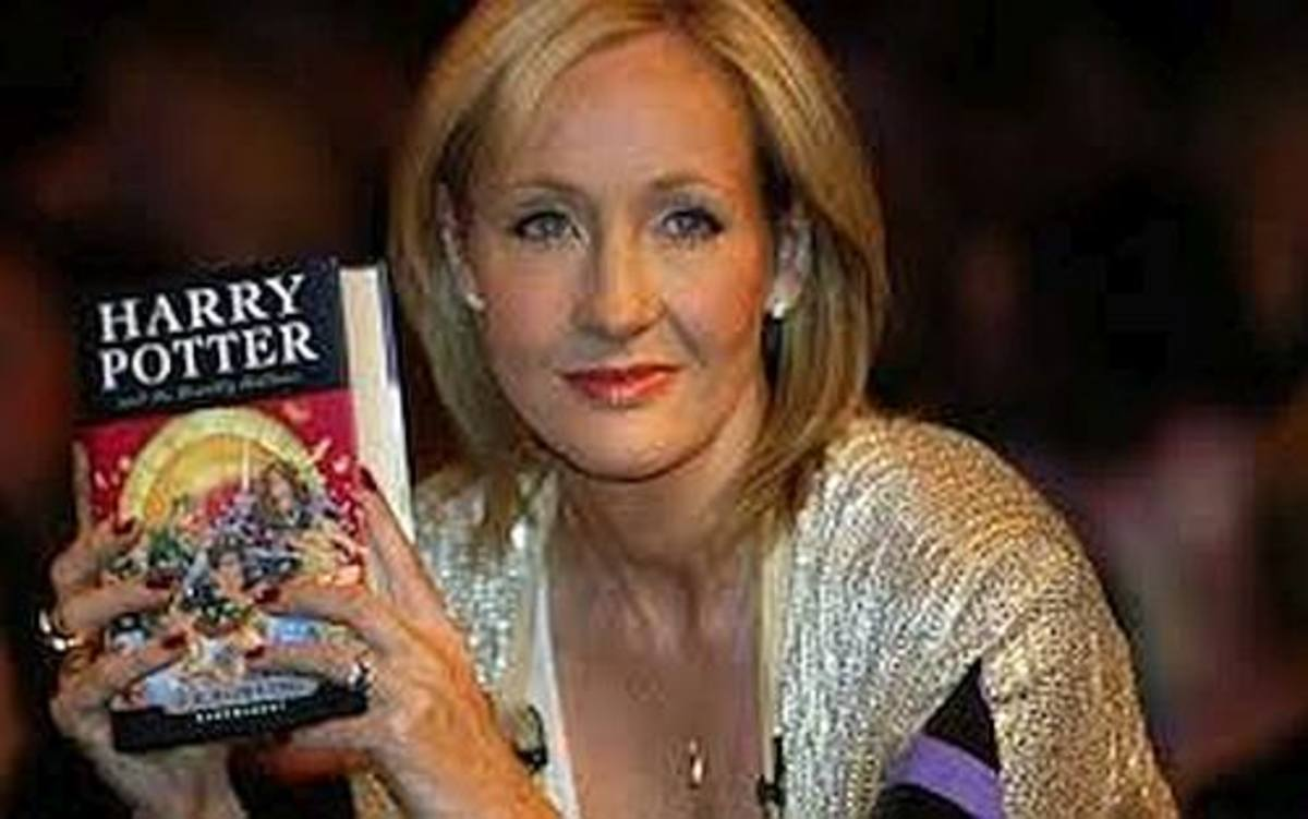 Before her Harry Potter series, J.K. Rowling was homeless.