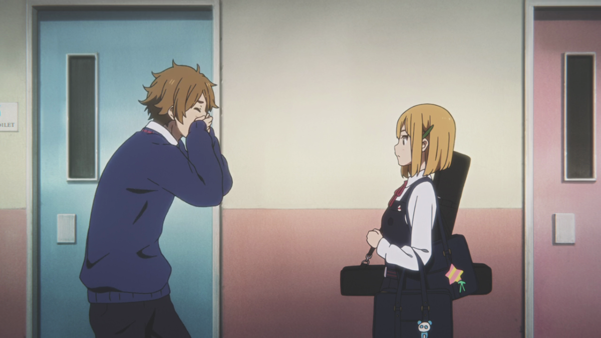 Mochizo accidentally confides his feelings for Tamako with Midori, to his dismay.
