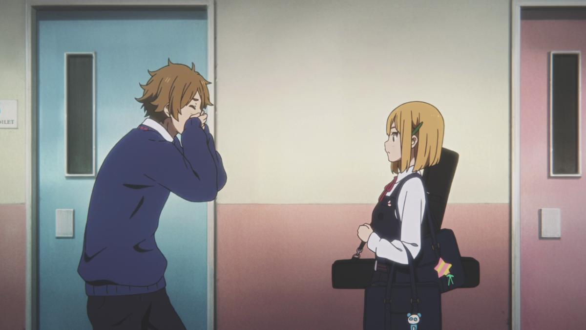 Mochizo accidentally confides his feelings for Tamako with Midori, to his dismay.