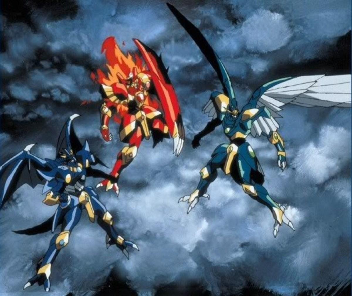 The Mashins of Magic Knight Rayearth.