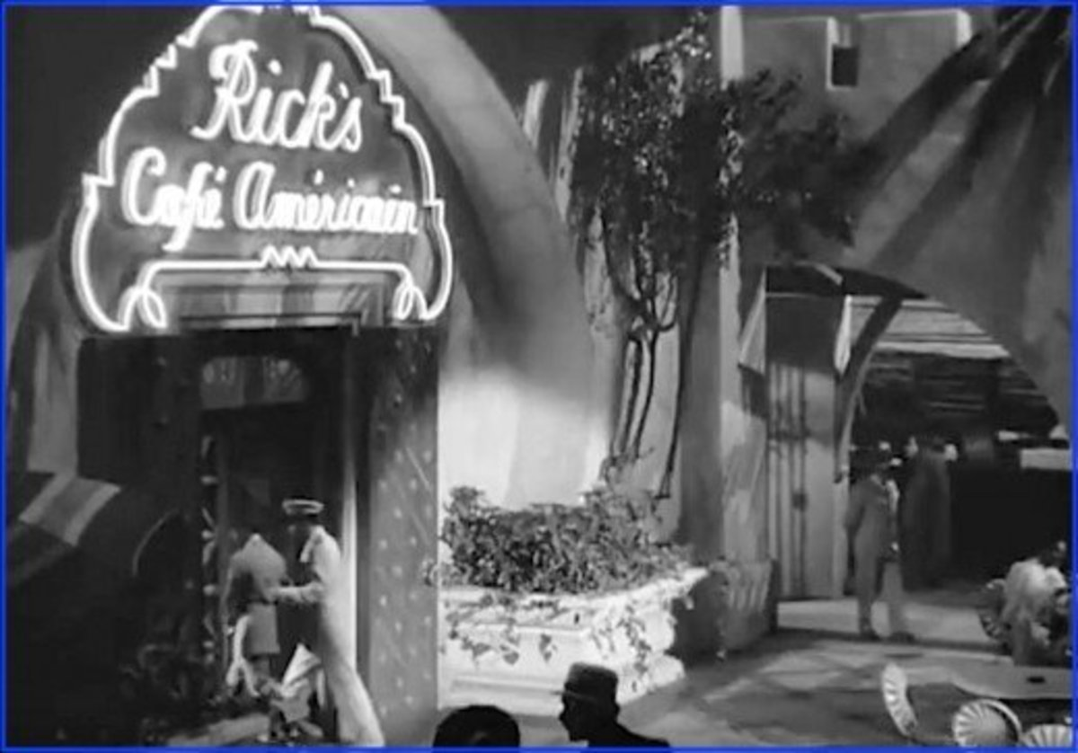 With its international cast and superb set design, the movie Casablanca made viewers really believe they were in Casablanca, Morocco.  In fact, almost the entire movie was shot at Warner Bros. Studios in Burbank, California.