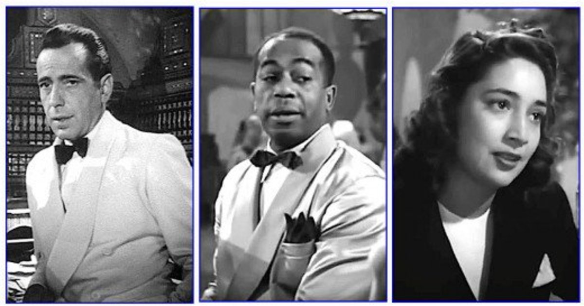 Humphrey Bogart, Dooley Wilson, and Ann Page were the only American-born actors in Casablanca.