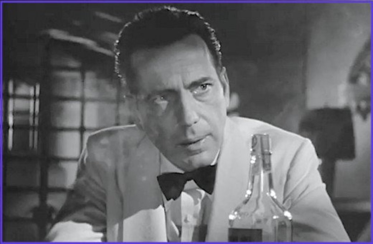 Of all the actors in Hollywood history, no actor has more quotes in the American Film Institute's Top 100 Movie Quotes than Humphrey Bogart.  Five of his lines from Casablanca made the list.