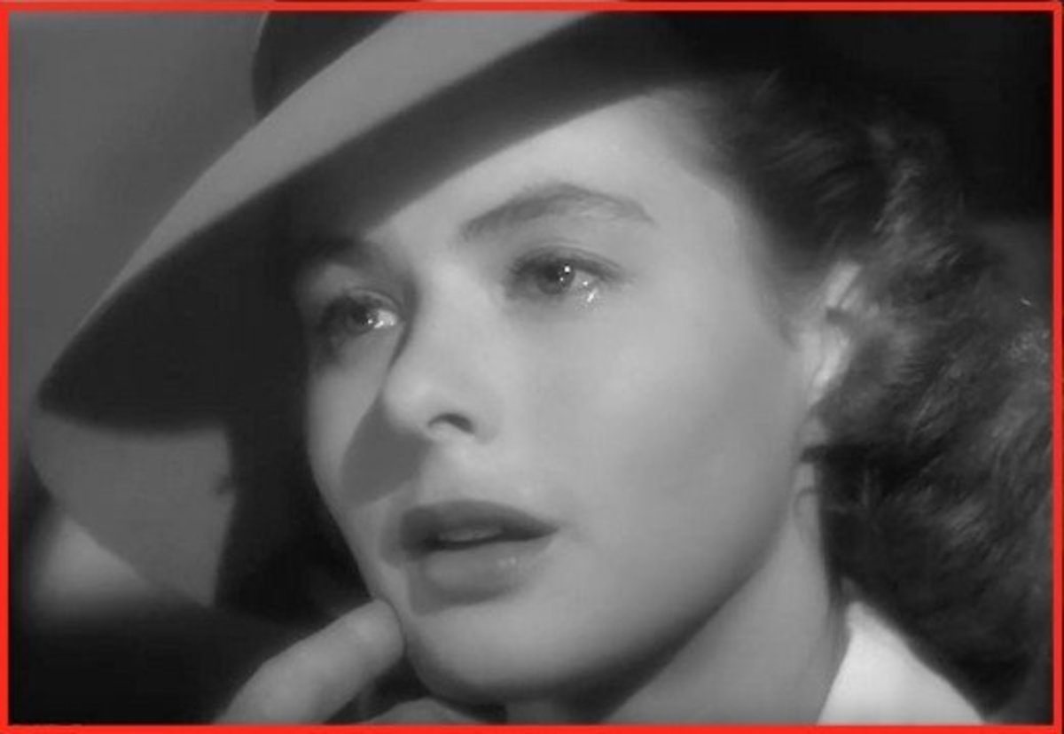 Ingrid Bergman was nominated for a Best Actress Oscar in 1944, but not for playing Ilsa in Casablanca.  She was nominated for playing Maria in For Whom the Bells Toll.  She lost to Jennifer Jones who starred in The Song of Bernardette.